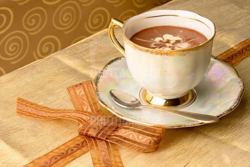 朝食にコーヒー