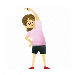 ラジオ体操で痩せる