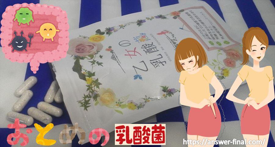 乙女の乳酸菌でダイエット(