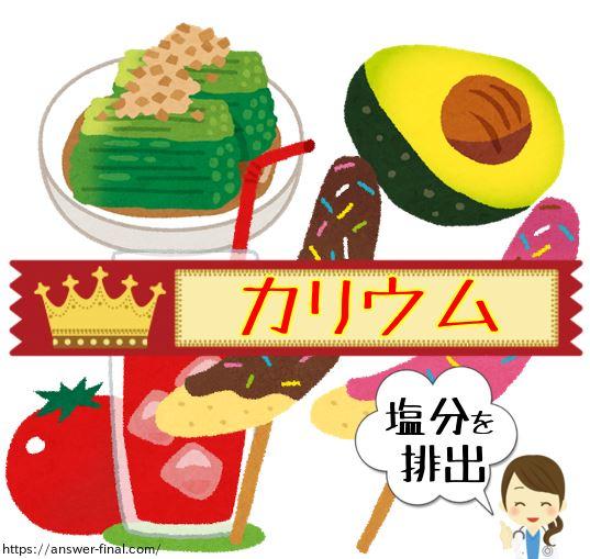 カリウムの多い食品