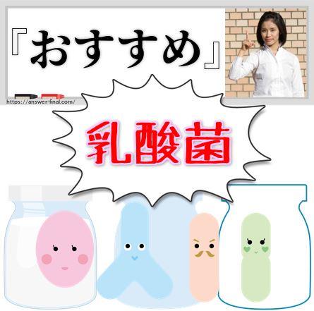 乳酸菌おすすめ